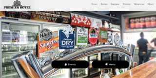 Website Development: Premier Hotel