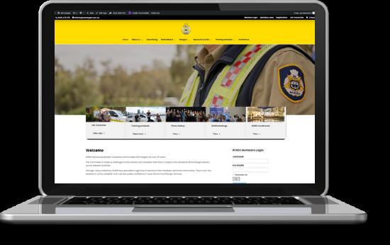 Website Development WA Rangers